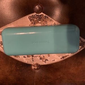 Tiffany Co sunglasses case only baby blue